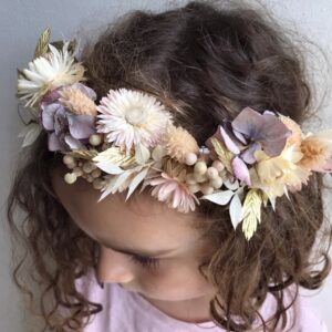 Girls multi-flower headband